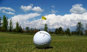 18 Holes of Golf for 2 People, Includes Cart & Large Bucket of Balls ($75.50 Value)
