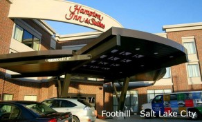 One-Night Stay at Hampton Inn 1345 S Foothill Dr in Salt Lake City, UT (Up to $129 Value)